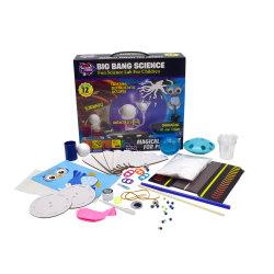 Laboratório de eletricidade estática diversão DIY Trick Kit Ciência para crianças