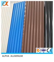 Impermeabilización de cubiertas de techo de color de hoja de aluminio utilizado para la pared y techo
