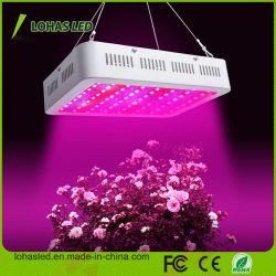 Высокая мощность 300 Вт-2000W микросхемы с двойной LED расти полный спектр света с УФ и ИК для выбросов парниковых газов и для использования внутри помещений цветения растений растущих