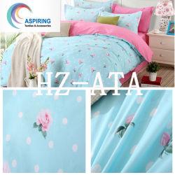 Bett-Blatt-Bettwäsche stellte Polyester-Bettdecke-Tröster-gesetzte Bettwäsche 100% für Haus ein