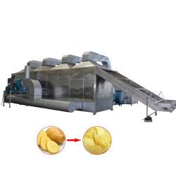 Große Ausgabe-Heißluft-trocknende Maschine für Gelbwurz/Ingwer/Knoblauch/Zwiebel/Kraut