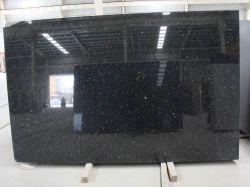 Black Granite Galaxy pierre polie paillasse/Windowsill/vanité haut/table/plinthes/Border/comptoir/cube/Flooring/Tile/dalle/de l'escalier