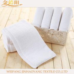 Banheira de venda de Borda de cetim cor sólida Tecelagem de fio simples Série 100% algodão Suprimento de toalha de rosto