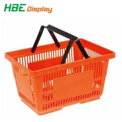 Commerce de gros Épicerie main Portable en Plastique Panier
