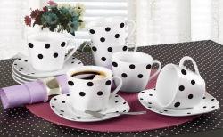Porcellana/nuovo insieme di ceramica del regalo del caffè dell'insieme di caffè della porcellana dell'insieme di tè dell'osso