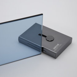 4mm-12mm Ford azul cristal tintado / cristal tintado / Vidrio Flotado tintado con alta calidad