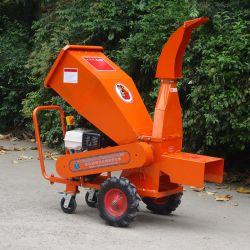 De commerciële Benzine Grade13HP dreef Houten Chipper van de Capaciteit van 85mm Afbrekende Ontvezelmachine aan