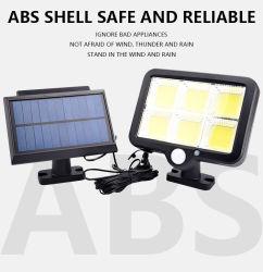 LEDの屋外の壁ライト太陽電池パネルシステム角度のABSシェルを調節する720度