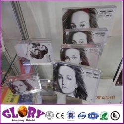 Blocco per grafici acrilico magnetico della foto della cornice della foto di alta qualità