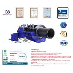 2500mm CNC 용접공 또는 개머리판쇠 용접 기계를 합동하는 기계 또는 열 융해를 합동하는 유압 HDPE 개머리판쇠 융해 용접 기계 또는 플라스틱 폴리에틸렌 관
