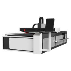 A elevada eficiência 500W 750W 1000W 1325 Placa de Metal Fibre CO2 Corte a Laser Preço da Máquina