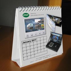 Una impresión personalizada 5.0inch Calendario Video