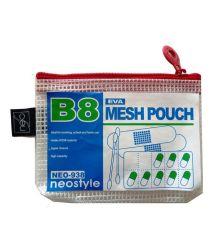 La nueva bolsa con cierre zip de PVC ecológica claro pequeño deslizante de plástico de bolsa de malla con cremallera