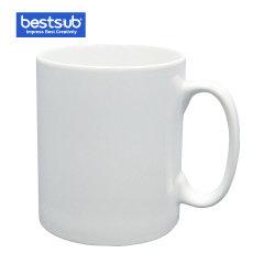 Sublimatie Kop van het Porselein van de Mok van 10 Oz de Geschikt om gedrukt te worden Witte Ceramische (BE10D)