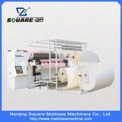 Utiliza el modelo de colchón Hf aguja Multi Quilting Máquina (300U cosido de la cadena)