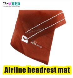 Poggiacapo biodegradabile a gettare dell'aeroplano di SMS/PP/nonwoven per la linea aerea