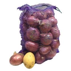 중국 도매 10kg 20kg 25kg 50kg 화목 야채 과일 콩 감자 양파 PE 라스텔 메쉬백