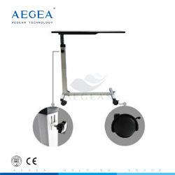 AG-Obt001 فوق طاولة سرير طاولة خشبية طاولة المستشفى السطح