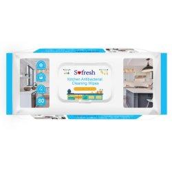 Huishoudelijke keuken Dish Cleaning natte doekjes 80PCS