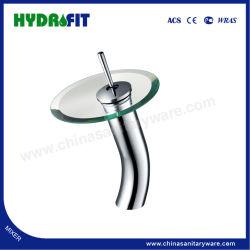 浴室のアクセサリのガラスWaterfullのコックの洗面器のコック(FT510-113)