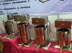Pequena capacidade da máquina de salsicha com material de aço inoxidável do enchedor