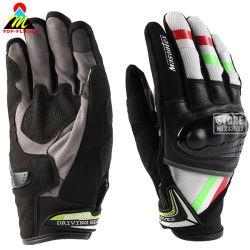 Средства индивидуальной защиты Biker мотоцикл Motocross перчатки Guanti Guantes Мото Luvas сенсорного экрана