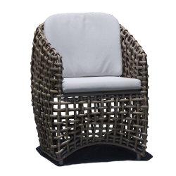 Horizonte de la moda clásica de estilo Outdoor Wicher Silla de Comedor muebles de ratán