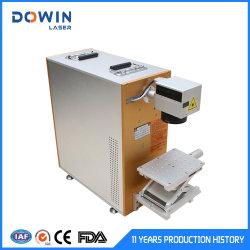 保護シェルデザイン任意選択回転式レーザーのマーキング機械価格