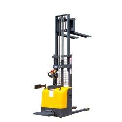 A entrega material Bateria de Elevação Hidráulico de carregamento do contentor Mini Empilhador Telescópico Palete Palete de equipamento de elevação do carro elevador eléctrico