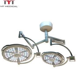 Plafond de la tête double à LED/opération chirurgicale d'exploitation Shadowless lumière