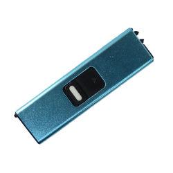 Briquet Briquet rechargeable USB Windproof bobine set avec câble de recharge USB