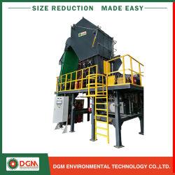 Двойной вал опасных отходов IBC корзины пластмассовые утилизации машины для шинковки