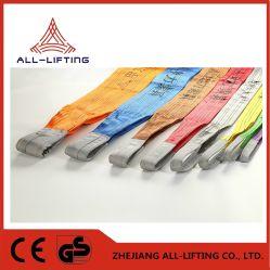 En1492-1 1-10 Tonnen-doppelte Ebene-Auge, zum des anhebenden Riemen-Fabrik-Polyester-Material-Riemens zu mustern
