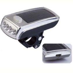 L'énergie solaire LED rechargeable pour la sécurité d'éclairage vélo Cyclisme (HLT-102)