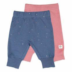 Pantaloni organici 100% stampati delle neonate del cotone di buona qualità Anti-Pilling