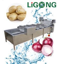 304 Stainess Réservoir double en acier de l'ozone de la bulle de légumes Fruits de la machine de lavage machine à laver