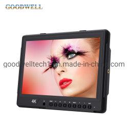 """2560X 1600 het Een hoogtepunt bereiken Nadruk 3G-SDI op Camera zetten LCD LCD van de Monitor het Scherm 10.1 """" op LCD Vertoning"""