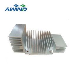 突き出されたAmlinumのプロフィール冷却脱熱器をカスタム設計しなさい