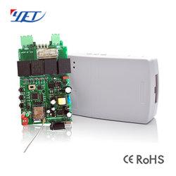 Télécommande RF et WiFi disponible Rolling Code 301 rolling shutter encore émetteur/récepteur866-WiFi
