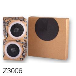 Z3006 Accepter Custom Mini haut-parleurs de poche boîte d'emballage en carton ondulé de matériaux recyclés