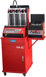 Probador automático de 6 cilindros y limpiador de inyectores