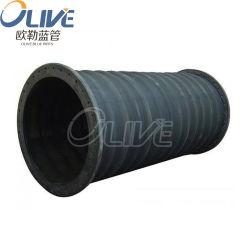 Eco-friendly Black Wrap superficie 3/4 pollici Dreging gomma aspirazione acqua E tubo flessibile della molla di scarico