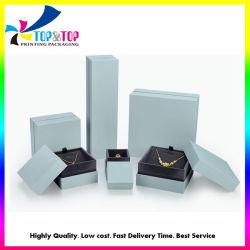 Kundenspezifisches Firmenzeichen gedruckter Papierschmucksache-Kasten-preiswerter Pappschmucksache-Ketten-Papier-Geschenk-Kasten-Großverkauf