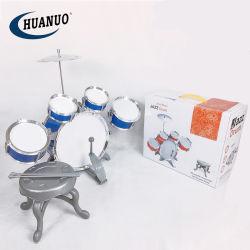 Kind-Ausbildungs-Musik-Felsen-Jazz-Trommel-gesetztes Spielzeug