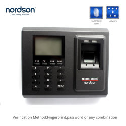 FR-F2 مستقل TCP/IP Network RFID Card Password Biometric Time in Time out Finger Print الحضور