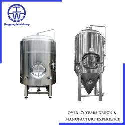 O SUS304 SUS316 Aço inoxidável equipamento equipamento de fabricação de cerveja de fermentação de cerveja