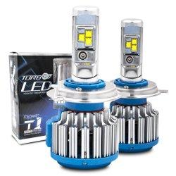 T1 LED H4 터보 LED 헤드라이트 장비 Csp/CREE 50W 8000lm H1 H3 H7 H8 H9 H11 Hb3 Hb4 T1 헤드라이트 Turboled 전구 안개등 드라이브 차 LED