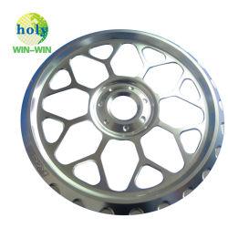 ISO9001 Professional fornecedor de máquinas máquina de costura da liga de alumínio da Roda de peças 6061 T6 Peças com aço inoxidável de alumínio