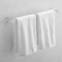 Acrílico montado na parede de toalhas de banho, Lucite Perspex Toalha de banho Rack de exibição