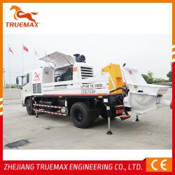 Equipos de mezcla de cemento automática de concreto Camión hormigonera con bomba